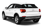 Car pictures of rear three quarter view of 2017 Audi Q2 Sport 5 Door SUV angular rear