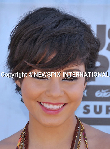 "VANESSA HUDGENS.attends the Hurley Walk The Walk 2011 National Championship held at Huntington Beach Pier, Huntington Beach, California_04/08/2011.Mandatory Photo Credit: ©Crosby/Newspix International. .**ALL FEES PAYABLE TO: ""NEWSPIX INTERNATIONAL""**..PHOTO CREDIT MANDATORY!!: NEWSPIX INTERNATIONAL(Failure to credit will incur a surcharge of 100% of reproduction fees).IMMEDIATE CONFIRMATION OF USAGE REQUIRED:.Newspix International, 31 Chinnery Hill, Bishop's Stortford, ENGLAND CM23 3PS.Tel:+441279 324672  ; Fax: +441279656877.Mobile:  0777568 1153.e-mail: info@newspixinternational.co.uk"