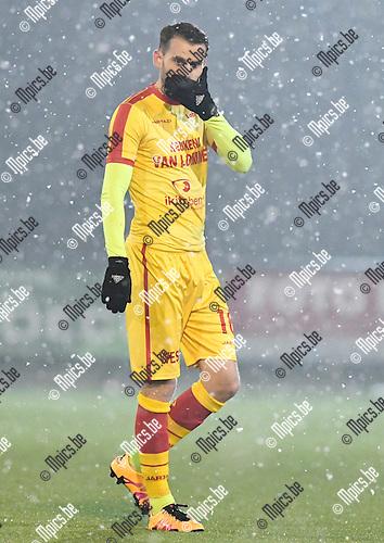 2017-02-11 / voetbal / seizoen 2016 - 2017 / Oosterzonen - Coxyde / Karel Van Roose (Oosterzonen)
