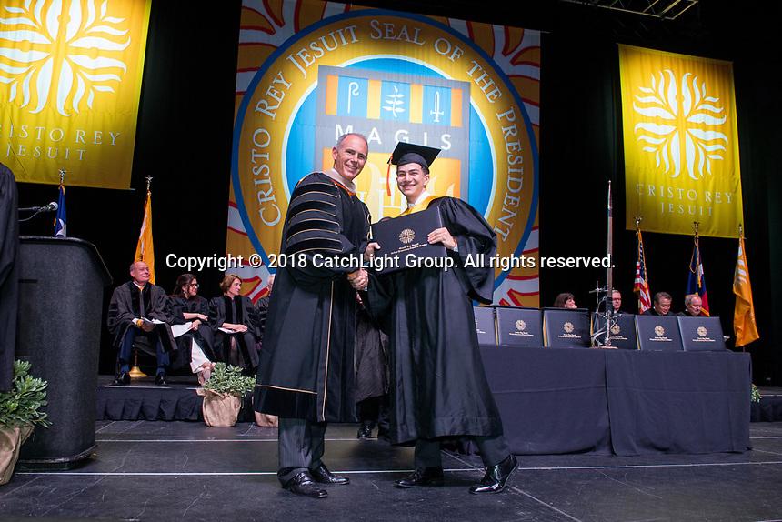 Cristo Rey Jesuit 2018 Graduation