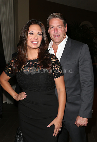 LOS ANGELES, CA - NOVEMBER 8: Alex Meneses, Scott Benton, at the Eva Longoria Foundation Dinner Gala honoring Zoe Saldana and Gina Rodriguez at The Four Seasons Beverly Hills in Los Angeles, California on November 8, 2018. Credit: Faye Sadou/MediaPunch