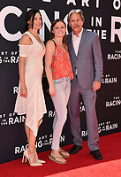 """AUG 01 """"The Art Of Racing In The Rain""""  premiere"""