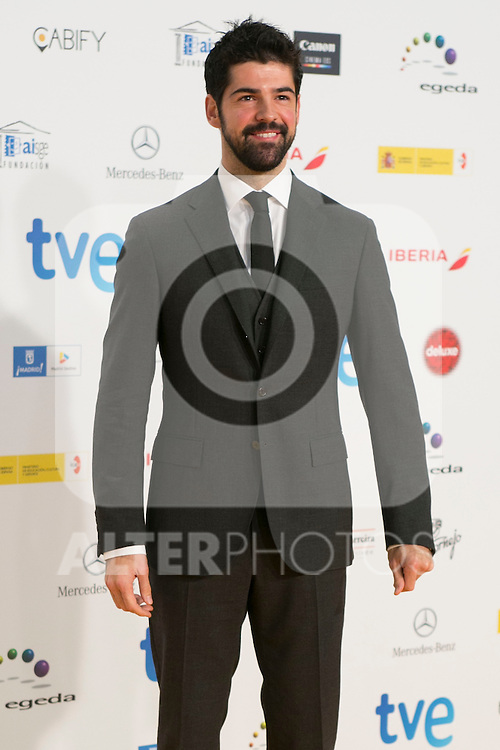 Miguel Angel Munoz atend the Jose Maria Forque Awards Photocall in Madrid, Spain. January 12 2015. (ALTERPHOTOS/Carlos Dafonte)