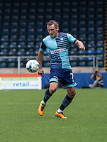 Garry Thompson of Wycombe Wanderers during the Sky Bet League 2 match between Wycombe Wanderers and Colchester United at Adams Park, High Wycombe, England on 27 August 2016. Photo by Liam McAvoy.