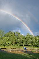 Backyard Rainbow, Lumberton, New Jersey