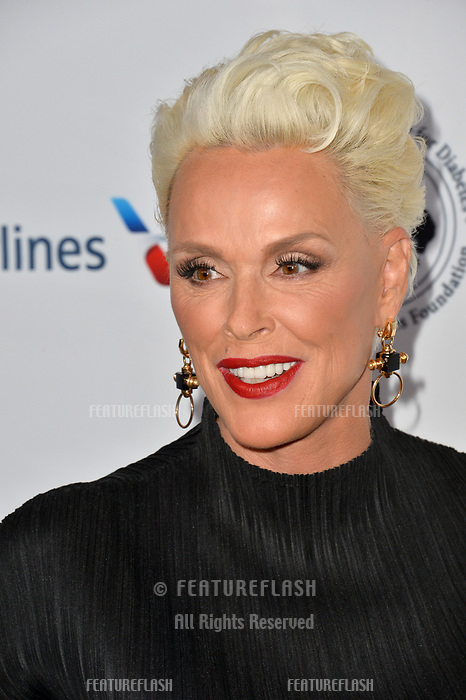 LOS ANGELES, CA. October 06, 2018: Brigitte Nielsen at the 2018 Carousel of Hope Ball at the Beverly Hilton Hotel.<br /> Picture: Paul Smith/Featureflash
