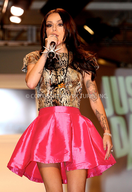 WWW.ACEPIXS.COM....September 11 2012, New York City....Singer Cher Lloyd at the Tumbler And Tipsy By Michael Kuluva spring 2013 fashion show during Style360 at Metropolitan Pavillion on September 11, 2012 in New York City.......By Line: Nancy Rivera/ACE Pictures......ACE Pictures, Inc...tel: 646 769 0430..Email: info@acepixs.com..www.acepixs.com