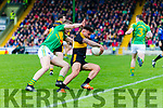 Micheál Burns Dr Crokes in action against  South Kerry in the Senior County Football Final in Austin Stack Park on Sunday