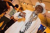 SAO PAULO, SP, 17.04.2015 - SÃO PAULO FASHION WEEK - Mandela  no último dia da São Paulo Fashion Week, Verão 2016 no Parque Candido Portinari na regiao oeste de São Paulo, nesta sexta-feira, 17.(Foto: Kevin David / Brazil Photo Press ).