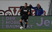Lukas Grozurek (Karlsruher SC) - 04.10.2019: SV Darmstadt 98 vs. Karlsruher SC, Stadion am Boellenfalltor, 2. Bundesliga<br /> <br /> DISCLAIMER: <br /> DFL regulations prohibit any use of photographs as image sequences and/or quasi-video.