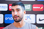 Jaime Fernandez attends to the media after the training of Spanish National Team of Basketball 2019 . July 26, 2019. (ALTERPHOTOS/Francis González)