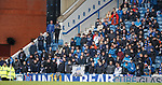 22.04.2018 Rangers v Hearts: Silent protest from the Union Bears today