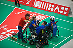 BISFed 2018 World Boccia Championships <br /> Exhibition Centre Liverpool<br /> 12.08.18<br /> ©Steve Pope<br /> Sportingwales