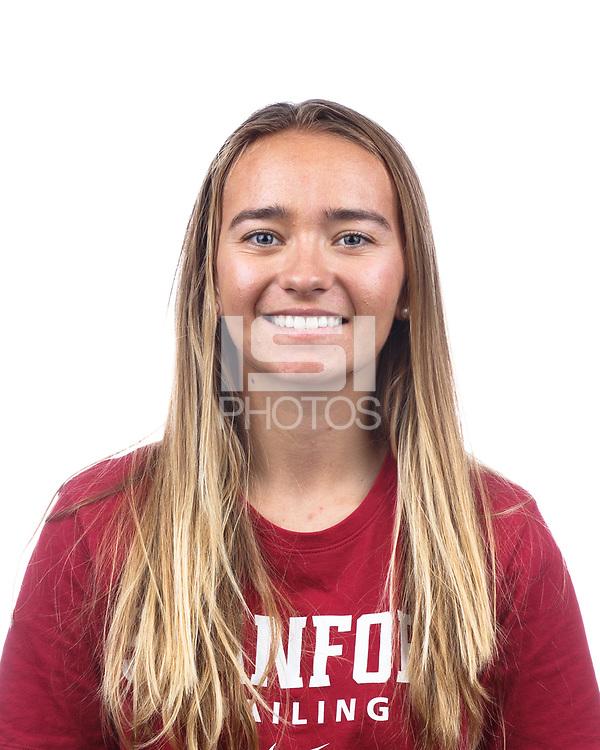 Stanford, CA - September 20, 2019: Michelle Lahrkamp, Athlete and Staff Headshots