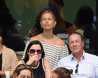 FLUSHING NY- SEPTEMBER 10: Karolina Kurkova sighted watching Angelique Kerber Vs Karolina Pliskova during the womens finals on Arthur Ashe Stadium at the USTA Billie Jean King National Tennis Center on September 10, 2016 in Flushing Queens. Credit: mpi04/MediaPunch