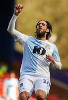Blackburn Rovers' Danny Graham reacts<br /> <br /> Photographer Alex Dodd/CameraSport<br /> <br /> The EFL Sky Bet Championship - Blackburn Rovers v Stoke City - Saturday 6th April 2019 - Ewood Park - Blackburn<br /> <br /> World Copyright © 2019 CameraSport. All rights reserved. 43 Linden Ave. Countesthorpe. Leicester. England. LE8 5PG - Tel: +44 (0) 116 277 4147 - admin@camerasport.com - www.camerasport.com