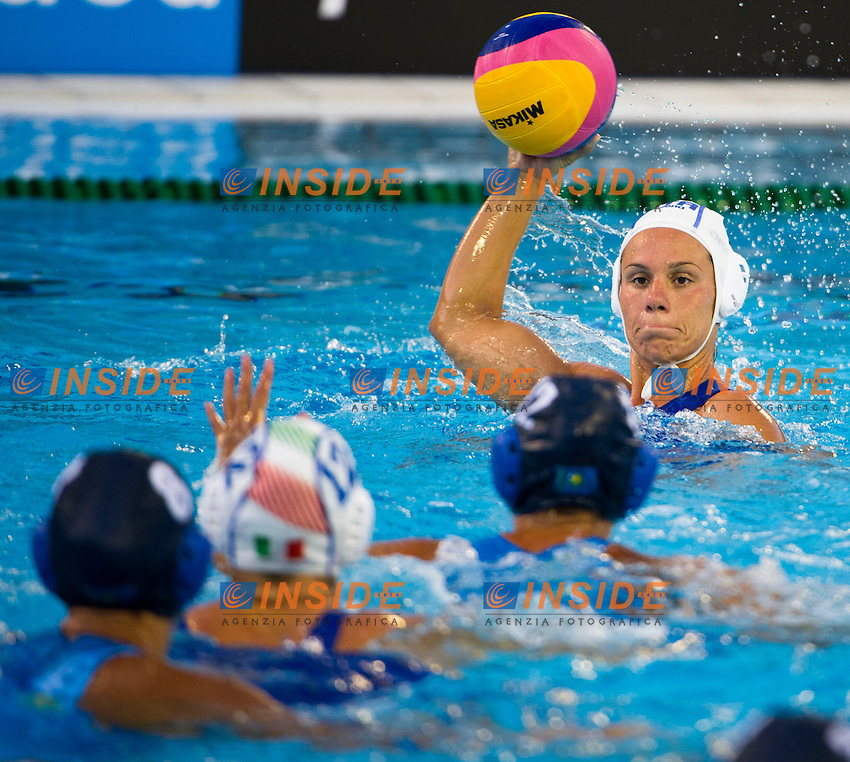 DI MARIO Tania <br /> ITA - KAZ <br /> 15 FINA World Aquatics Championships<br /> Day-02 Waterpolo Women <br /> Barcelona 21 July - 4 August 2013<br /> Photo G. Scala/Insidefoto/Deepbluemedia.eu