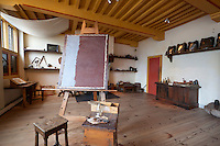 Netherlands, North Holland, Amsterdam: Rembrandt's House (Museum Het Rembrandthuis). Painters studio | Niederlande, Nordholland, Amsterdam: Museum im Rembrandt-Haus, Atelier des Malers