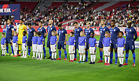 Glendale, AZ - Sunday January 27, 2019: The men's national teams of the United States (USA) and Panama (PAN) play in an international friendly game at State Farm Stadium.