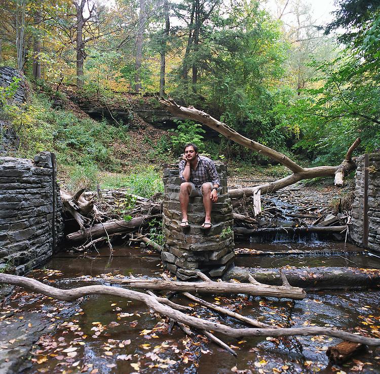 Ian Parker Portrait Ithaca
