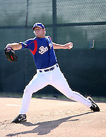 Tim Murphy / Texas Rangers 2008 Instructional League..Photo by:  Bill Mitchell/Four Seam Images