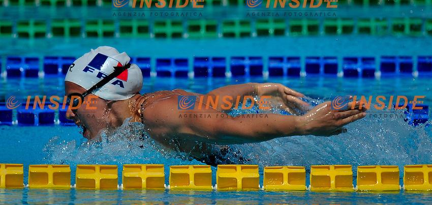 MABBOUX Isabelle FRA<br /> 400 m Medley Women<br /> 50 Settecolli Trofeo Internazionale di nuoto 2013<br /> swimming<br /> Roma, Foro Italico  12 - 15/06/2013<br /> Day02 Heat<br /> Photo Pasquale Mesiano/Deepbluemedia/Insidefoto