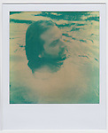 LUCEO Members Daryl Peveto, Matt Eich, Kendrick Brinson, Matt Slaby, David Walter Banks and Kevin German photographed on instant film in the Rivanna River in Charlottesville, Virginia June 2011.