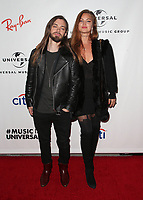 10 February 2019 - Los Angeles, California - Tom Payne, Jennifer Åkerman. Universal Music Group GRAMMY After Party celebrating the 61st Annual Grammy Awards held at The Row. Photo Credit: Faye Sadou/AdMedia