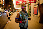 Dashaun outside the Latex Ball, Manhattan, 2011. Photograph by Gerard H. Gaskin.