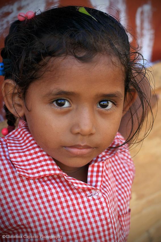 Schoolgirl, Corn Islands, Nicaragua