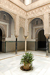 Patio de las Munecas in El Alcazar in Seville, Spain.