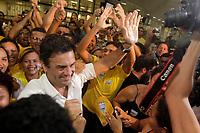 PA – AECIO NEVES/ELEIÇÃO 2010-PARÁ - POLÍTICA - O senador eleito por Minas Gerais Aécio Neves chega a Belém no aeroporto internacional de belém nesta sexta-feira, 22, para participar de programação de campanha do candidato Simão Jatene (PSDB). (PA), nesta sexta-feira.<br /> <br /> Foto: TARSO SARRAF