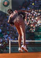 23-05-10, Tennis, France, Paris, Roland Garros, First round match, Venus Williams in her new outfit