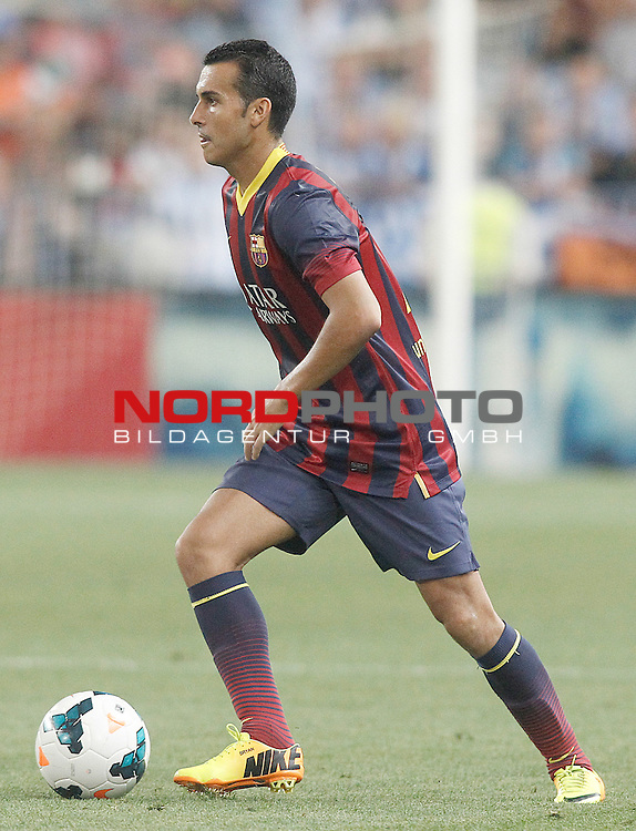FC Barcelona's Pedro Rodriguez during La Liga match.August 25,2013. Foto © nph / Acero)