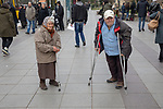 Older Folks With Cane & Crutches