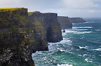 The Cliffs of Mohr, Hag's Head, The Burren, County Clare, Republic of Ireland