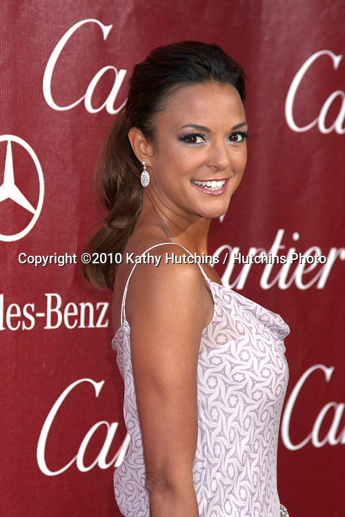 Eva LaRue.arriving at the 2010 Palm Springs Film Festival Awards Gala.Palm Springs Convention Center.January 5, 2010.©2010 Kathy Hutchins / Hutchins Photo.