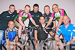 Killarney Cyclists who are in training for the Castlegregory bikeathon festival where they will be participating in a 24hour cycle challenge on the 17 and 18th February front row l-r: Peter White, Paul Gosney, Brendan Cassidy. Back row: Shane Kenny Castlegregory, Michael O'Leary, Damian Finn Castlegregory, Joe O'Shea and Robert Tate..