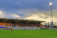 General view of The Abbey Stadium. FA Cup 2nd round match between Cambridge United and Doncaster Rovers at the R Costings Abbey Stadium, Cambridge, England on 6 December 2015. Photo by Kevin  Richards.