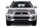 Car photography straight front view of a 2015 Mitsubishi ASX Diamond Edition 5 Door SUV Front View