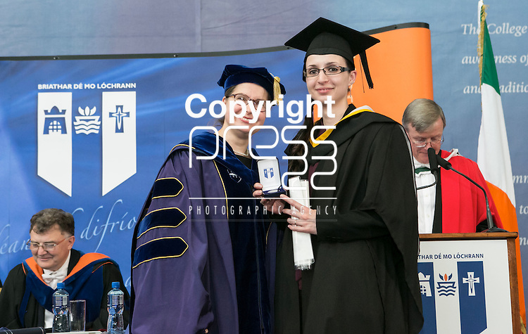 Pictured at the recent Mary Immaculate College conferring ceremonies were<br /> Picture Credit Brian Gavin Press 22