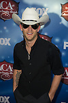 Justin Moore arrives at the American Country Awards 2013 at the Mandalay Bay Resort & Casino in Las Vegas, Nevada