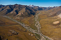 Wind river, Arctic National Wildlife Refuge, Brooks Range mountains, Alaska.