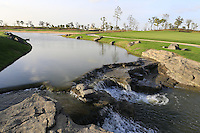 The 3rd hole during Tuesday's Pro-Am Day of the 2014 BMW Masters held at Lake Malaren, Shanghai, China 28th October 2014.<br /> Picture: Eoin Clarke www.golffile.ie