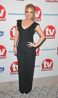 Michelle Hardwick at the TV Choice Awards 2018, The Dorchester Hotel, Park Lane, London, England, UK, on Monday 10 September 2018.<br /> CAP/CAN<br /> &copy;CAN/Capital Pictures