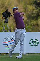 Cameron Smith (USA) watches his tee shot on 18 during round 4 of the World Golf Championships, Mexico, Club De Golf Chapultepec, Mexico City, Mexico. 2/24/2019.<br /> Picture: Golffile | Ken Murray<br /> <br /> <br /> All photo usage must carry mandatory copyright credit (© Golffile | Ken Murray)