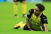 13th September 2017, Wembley Stadium, London, England; Champions League Group stage, Tottenham Hotspur versus Borussia Dortmund; Pierre-Emerick Aubameyang of Borussia Dortmund