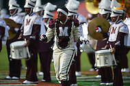 September 7, 2013  (Washington, DC) The Morehouse College Marching Band performs during halftime at the AT&T Nations Football Classic between Howard and Morehouse. (Photo by Don Baxter/Media Images International)