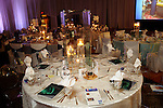 One of the tables at the Winter Ball at the Hilton Americas Hotel Saturday Jan. 22,2011.(Dave Rossman/For the Chronicle)