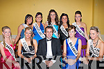 FESTIVAL QUEENS: The entrants for the Ballyheigue Festival Queen Pageant with Senator Mark Daly of RTE's Treasure Island fame at the Community Hall on Sunday seated l-r: Genvieve Keane, Sophie Casey, Senator Mark Daly, Ruth O'Connor and Aisling Tynan. Back l-r: Lisa Dunne, Laura Galway, Laura Reidy, Clarissa O'Sullivan and Laura Reidy.   Copyright Kerry's Eye 2008